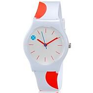 Dziecięce Zegarek na nadgarstek Kolorowy Kwarcowy Plastic Pasmo Słodycze Nowoczesne Na co dzień Pomarańczowy