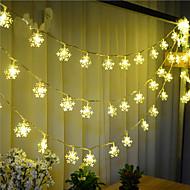 100-ledede 10m snø lys vanntett plugg utendørs christmas decoration lys ledet streng lys