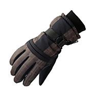 スキー手袋 フルフィンガー 女性用 男性用 スポーツグローブ 保温 防水 防風性 DLGDX® スキー モーターバイク PU スキーグローブ 冬