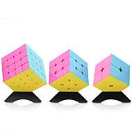 ルービックキューブ YongJun スムーズなスピードキューブ 2*2*2 3*3*3 4*4*4 スピード プロフェッショナルレベル マジックキューブ ABS