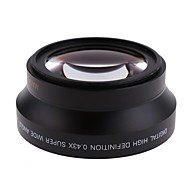 67mm 0.43X Wide Angle Lens  Macro Lens for Canon Rebel T5i T4i T3i 18-135mm for Nikon 18-105mm Lens Kit