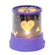 automatyczny obrót miłośników muzyki doprowadziły niebo lampka nocna lampa projektora światła wystrój sypialni romantyczny wieczór światło