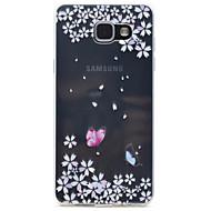 Samsung galaxy a310 a510 perhonen kuvio tpu erittäin puhtaasti läpikuultava aukko pehmeä puhelimen kotelo