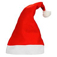 10kpl / erä aikuisten tavallinen joulu hatut santa hatut lapset korkki pikkujoulut rekvisiitta