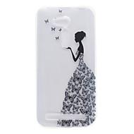 For asus zb551kl zb452kg lille pige mønster høj permeabilitet tpu materiale telefon shell
