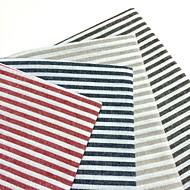 Τετράγωνο Ριγωτό Σουπλά / Χατοπετσέτα , Μείγμα Λινο / Βαμβάκι Υλικό Πίνακας Dceoration 4