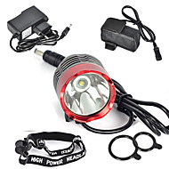 Lights Headlamps / Bike Lights / Front Bike Light LED 3000 Lumens 1 Mode Cree XM-L T6 18650 Super LightCamping/Hiking/Caving / Hunting /