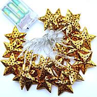 1 stk 2m 20led streng lys for ferie fest bryllup ledet julebelysning