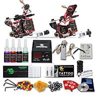 dragonhawk® kit tattoo kits 2 máquinas