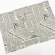 Τετράγωνο Καμβάς Χατοπετσέτα , Λινό Υλικό Πίνακας Dceoration 4
