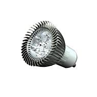 3W GU10 Spot LED 3 200-250 lm Blanc Chaud Gradable / Décorative AC110 / AC220 V 10 pièces