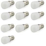 2W E14 Mini Led Bulb for Frigerator/ Tool Machine/Sewing Lamp 180 lm Cool White 220V-240V (10 Pieces)