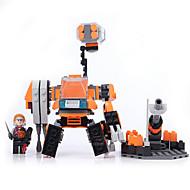 Action Figures & Stuffed Animals / Building Blocks For Gift  Building Blocks Model & Building Toy Warrior / Machine / Robot ABS5 to 7