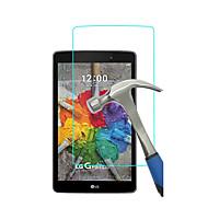 edzett üveg kijelző védő fólia LG G pad 3 8,0 v525 gpad x 8,0 v521wg