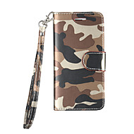 Voor Samsung Galaxy S6 S7 Case Cover Mobiele telefoon holster camouflage patroon