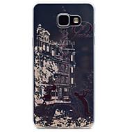 Til Samsung Galaxy A510 A310 musik tårn mønster tpu høj renhed gennemsigtig blød telefon taske