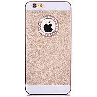 아이폰 5 / 5S에 대해 다시 구멍 다이아몬드 블링 반짝이 커버 케이스 (모듬 색상)