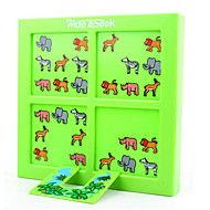 Jigsaw Puzzles Board Game / Educational Toy / Jigsaw Puzzle Building Blocks DIY Toys Square Plastic Cyan / Green Leisure Hobby