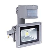 10w bewegingssensor LED schijnwerper met PIR 800lm super heldere buitenbeveiliging licht 85V-265V waterdichte overstroming armatuur 3200k