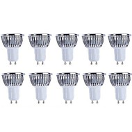 5W GU10 LED Spotlight 4 COB 500 lm Warm White / Cool White Dimmable AC 220-240 / AC 110-130 V 10 pcs