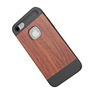 のために 耐衝撃 ケース バックカバー ケース 木目 ハード バンブー のために Apple iPhone 7