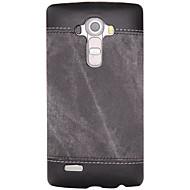 Til lg k10 k8 støddæmpet taske bagcover case solid farve hard pu læder til lg k7 lg g5 lg g4 lg g3 lg nexus 5