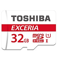Toshiba 32GB UHS-I U1 MicroSD/MicroSDHC/MicroSDXC/TFMax Read Speed48 (MB/S)Max Write Speed48 (MB/S)