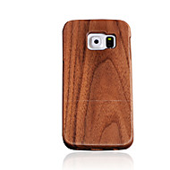 CORNMI For Samsung Galaxy S7 S6 S6 Edge S5 S4 Case Cover Rosewood Walnut Wood Hard Wooden Back Cover Shell .