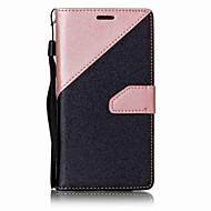 Per A portafoglio / Porta-carte di credito / Con supporto Custodia Integrale Custodia Tinta unita Resistente Similpelle per Samsung