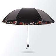 Fekete Összecsukható esernyő Napernyő Plastic Babakocsi