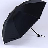 Zwart Vouwparaplu Parasol Plastic Wandelwagen
