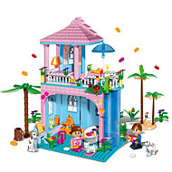 Building Blocks / Dollhouse For Gift  Building Blocks Model & Building Toy House / Architecture ABS5 to 7 Years / 8 to 13 Years / 14