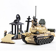Action Figures & Stuffed Animals / Building Blocks For Gift  Building Blocks Model & Building Toy Tank / Machine ABS5 to 7 Years / 8 to 372PCS