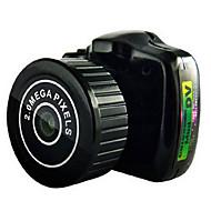 y2000 Actiecamera / Sportcamera 20MP 4608 x 3456 WIFI / Verstelbaar / Draadloos / Groothoek 30fps Neen ± 2EV Neen CMOS 32 GB H.264Enkele