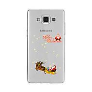 Για Με σχέδια tok Πίσω Κάλυμμα tok Χριστούγεννα Μαλακή TPU για Samsung A9(2016) / A7(2016) / A5(2016) / A3(2016) / A9 / A8 / A7 / A5 / A3
