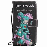 Voor Portemonnee / Kaarthouder / met standaard hoesje Volledige behuizing hoesje Cartoon Hard PU-leer voor LGLG K10 / LG K7 / LG Nexus 5X