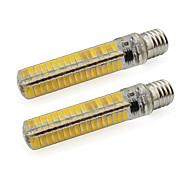 5W E17 Żarówki LED bi-pin Rurka 136 SMD 5730 500 lm Ciepła biel / Zimna biel V 2 sztuki