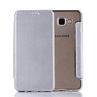 のために フリップ ケース フルボディー ケース ソリッドカラー ハード PUレザー のために Samsung A7(2016) / A5(2016) / A3(2016)