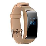 DMDG D22 Slimme armband Slim horloge Koptelefoon PolsbandenVerbrande calorieën Stappentellers Spraakbesturing Logboek Oefeningen