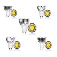3W E14 / GU10 / GU5.3 / E26/E27 / B22 LED Σποτάκια 1 COB 300 lm Θερμό Λευκό / Ψυχρό Λευκό / Φυσικό Λευκό AC 85-265 V 10 τμχ