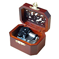 Music Box Toys Leisure Hobby Novelty Sound Metal Wood Boys' Girls'