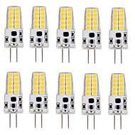 3W G4 LED Mısır Işıklar T 20 SMD 2835 280-300 lm Sıcak Beyaz Serin Beyaz V 10 parça