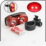 sigurnosna svjetla / Stražnje svjetlo za bicikl LED - Biciklizam Vodootporno AAA 80 Lumena Baterija Biciklizam-Xie SHENG