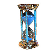 Sabliers Nouveaux Jouets Cylindrique Cristal Bleu Pour Garçons Pour Filles 5 à 7 ans 8 à 13 ans 14 ans & Plus