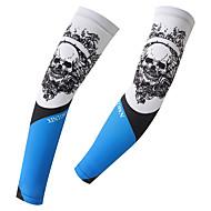 Manguitos BicicletaTranspirable Secado rápido Resistente a los UV Aislado A prueba de radiaciones Listo para vestir Reductor del Sudor