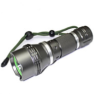 Verlichting LED-Zaklampen LED 1200 Lumens 5 Mode LED 18650 Verstelbare focus Waterdicht Compact formaat Super Light