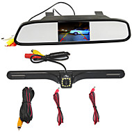 Rearview Mirror 4.3 TFT LCD Car Parking Rearview Mirror Monitor With 12 LED CCD HD Rear View Camera For VW Audi Ford Toyota Nissan Mazda Hyundai
