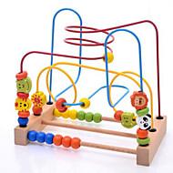 Allevia lo stress Gioco educativo Hobby e passatempo Giocattoli Originale Quadrata Cilindrico Legno Arcobaleno Per bambini Per bambine