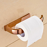 Rose Gold Bathroom Accessories Solid Brass Toilet Paper Holders