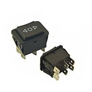 Universal Car 6 Pins On-Off-On Momentary Rocker Switch AC 250V/10A 125V/15A